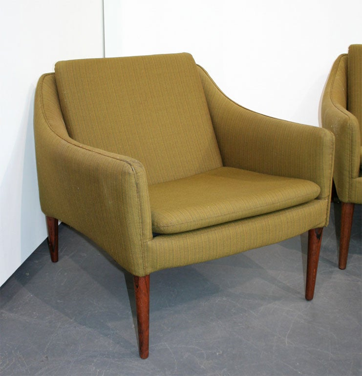 Beautiful settee seating group by hans olsen at 1stdibs for Settee seating
