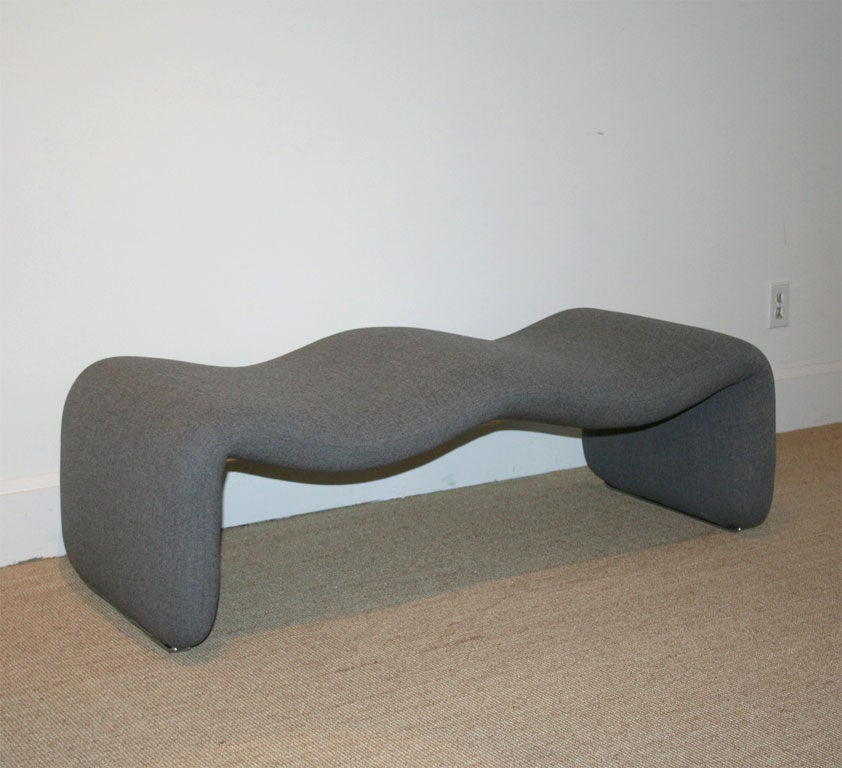 An Olivier Morgue Djinn Two Seater Bench At 1stdibs