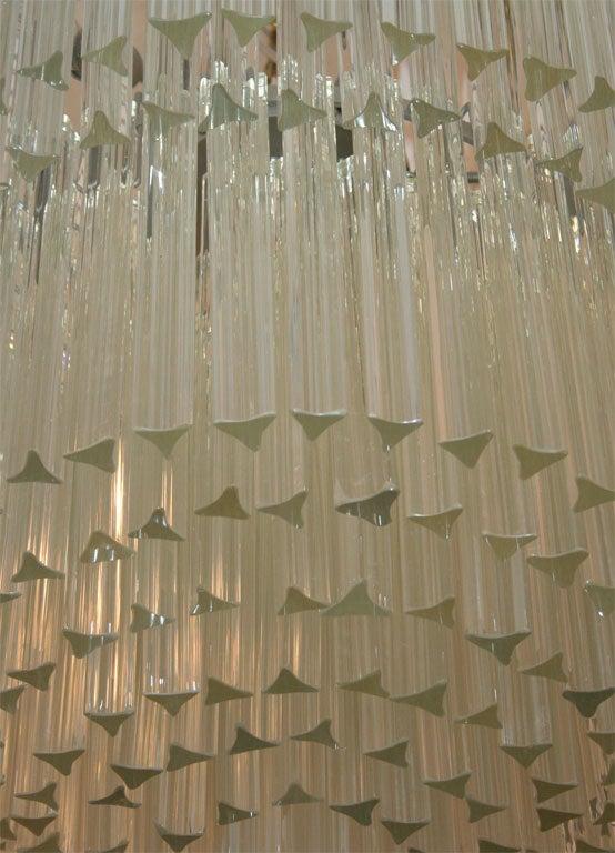 Grand Italian Crystal Chandelier At 1stdibs