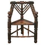 17th C. English Oak Chair