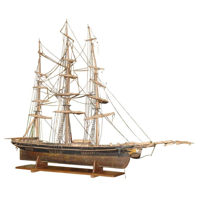 Large Antique Ships Model