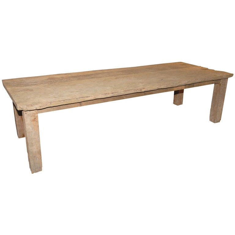 large rustic french farm table at 1stdibs