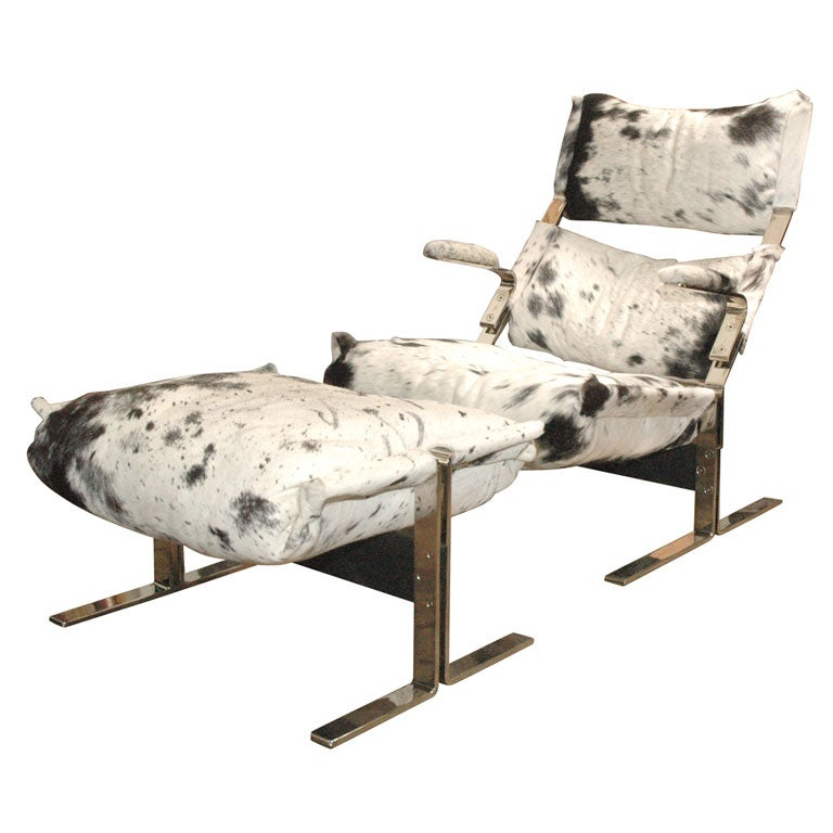 Chaise lounge by giovanni o 39 fretti at 1stdibs for Bernard chaise lounge