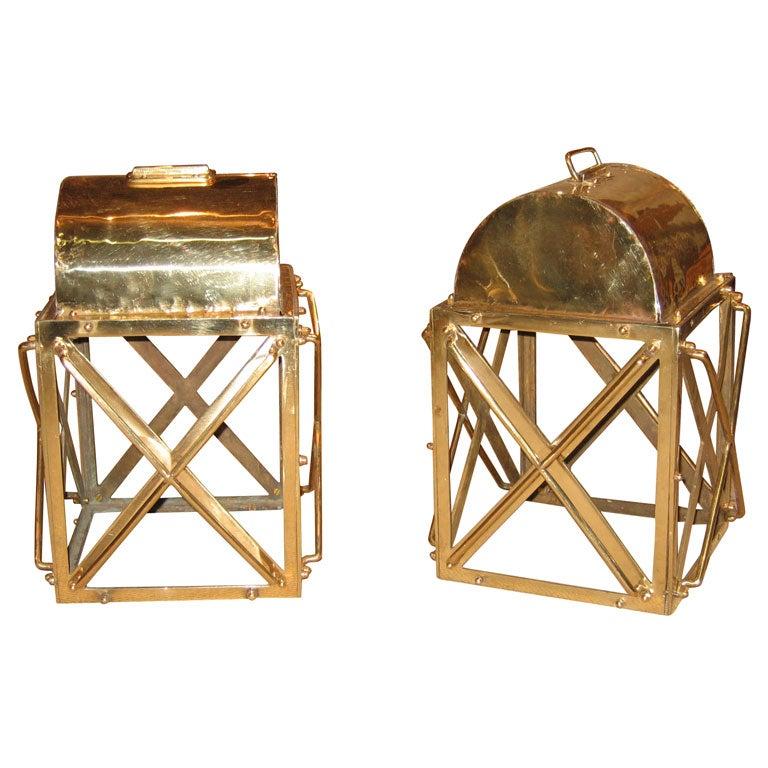 Two 19th Century Boat Lanterns At 1stdibs