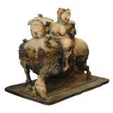 Emil Kazaz Bronze Sculpture