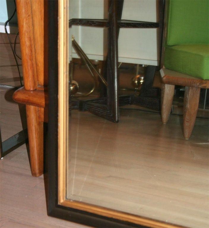 Large Mahogany Mirror in the Manner of Parzinger In Good Condition For Sale In New York, NY