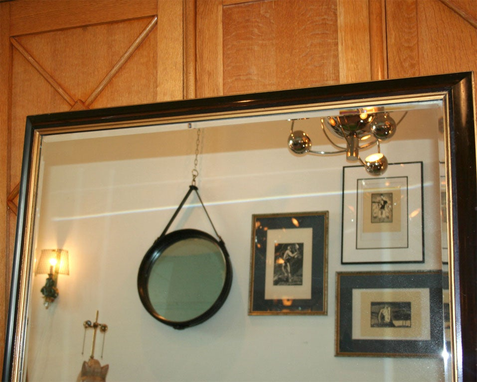 Large Mahogany Mirror in the Manner of Parzinger 5