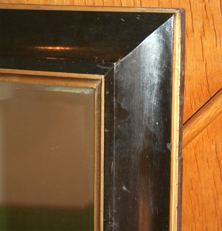 Large Mahogany Mirror in the Manner of Parzinger For Sale 2