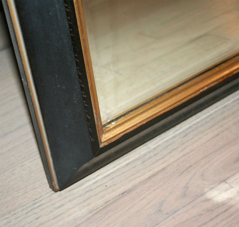 Large Mahogany Mirror in the Manner of Parzinger For Sale 4