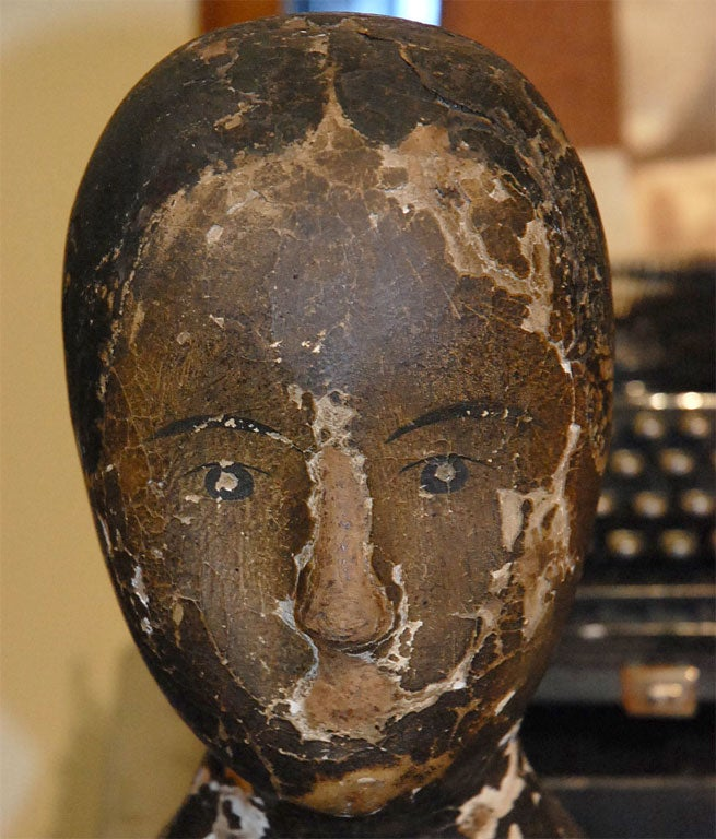 Papier mache head at 1stdibs for Paper mache objects