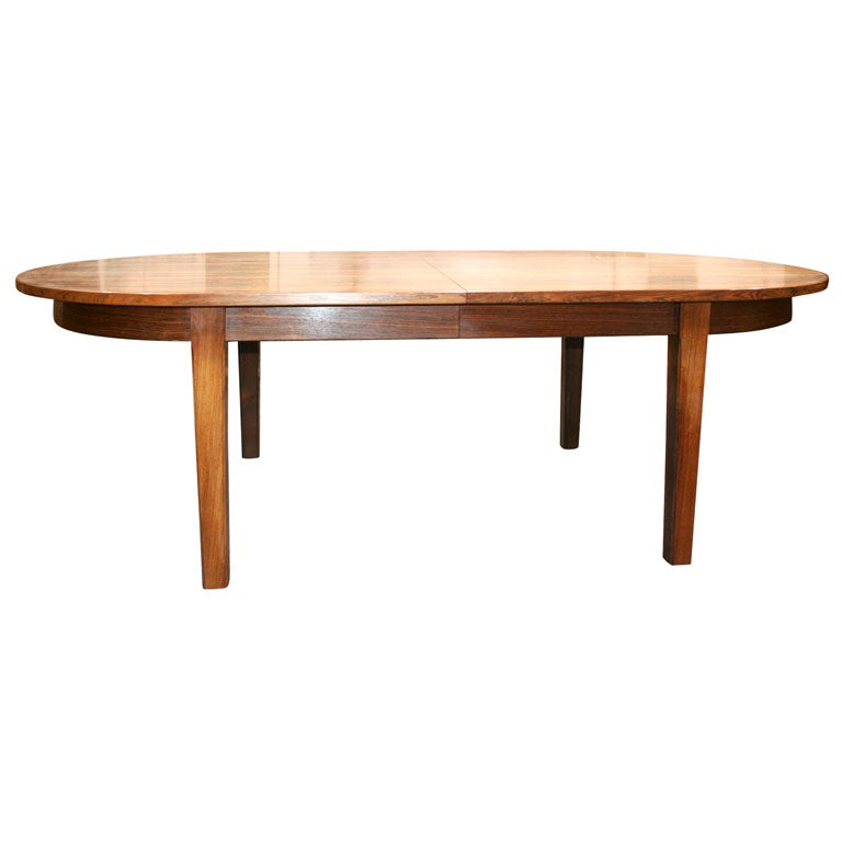 Large Expandable Rosewood Oval Dining Table 8 16 at  : x from www.1stdibs.com size 768 x 768 jpeg 23kB