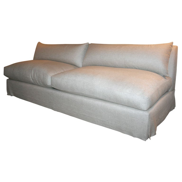 Anotny Todd Armless Sofa At 1stdibs