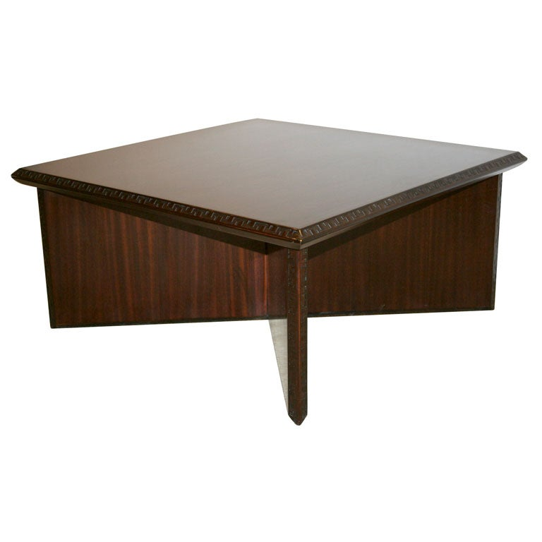 A Frank Lloyd Wright 1950s Henredon Square Coffee Table At 1stdibs
