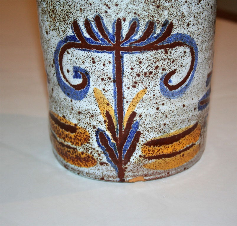 Ceramic Vase by Accolay In Excellent Condition For Sale In Brooklyn, NY