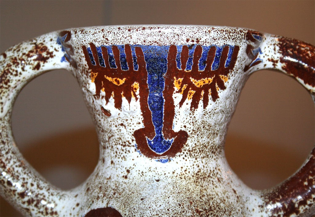 Ceramic Vase by Accolay For Sale 2