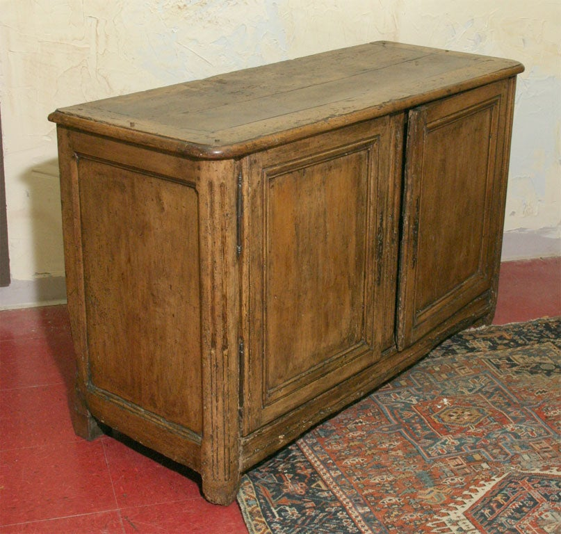 Rustic french louis xiv cherry wood buffet sideboard at