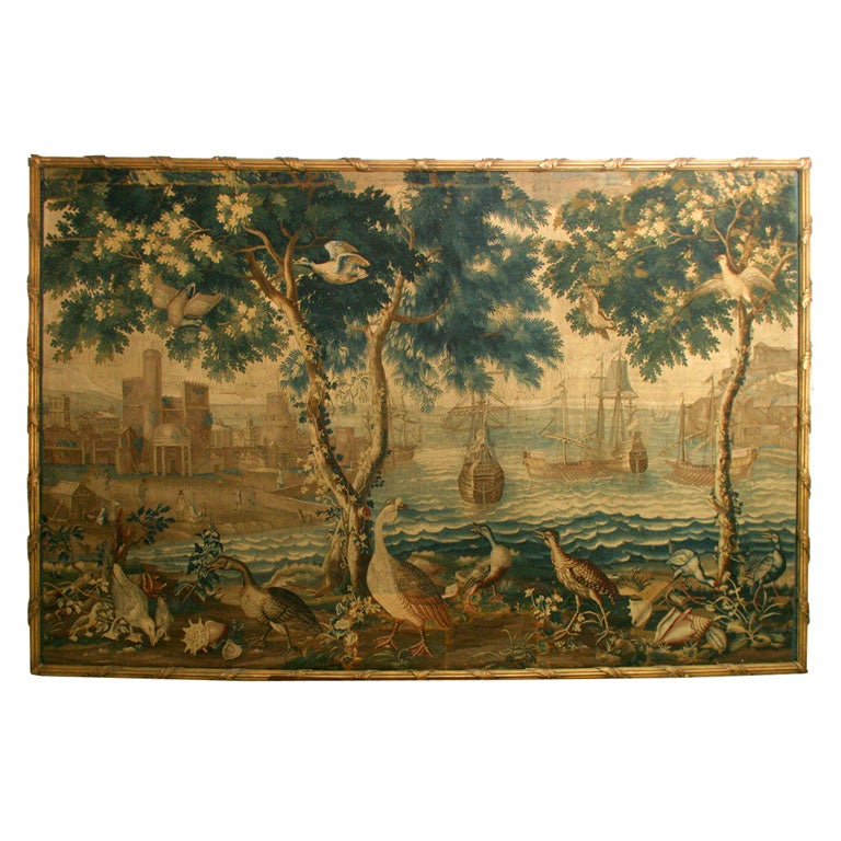 A Rare & Important French Louis XIV Beauvais Tapestry