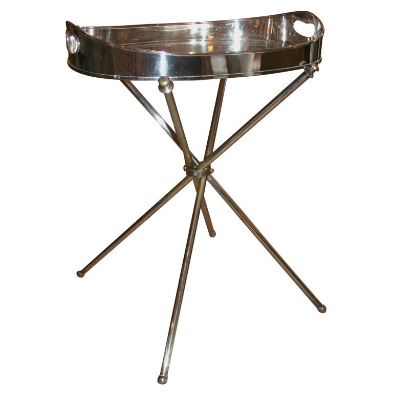 Silver Coffee Table Plate: Silver Tray Table At 1stdibs