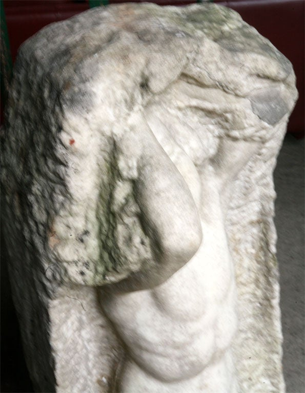 20th Century Marble Statue by Thyra Boldsen For Sale