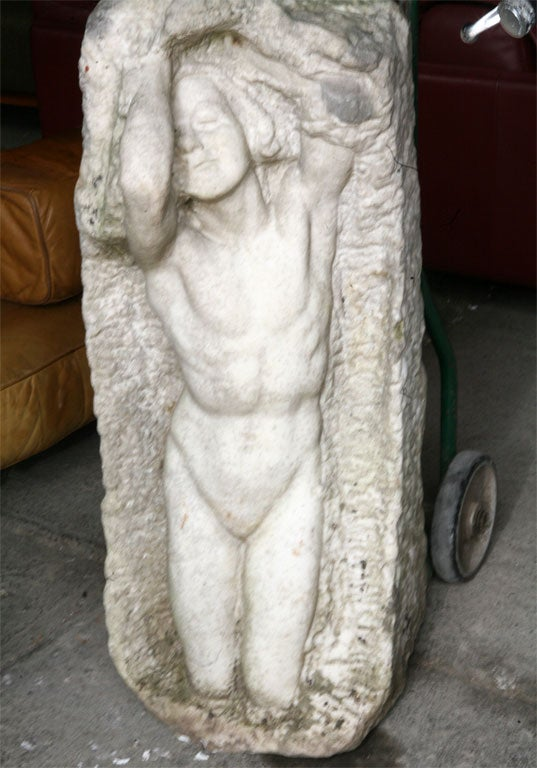 Marble Statue by Thyra Boldsen For Sale 3