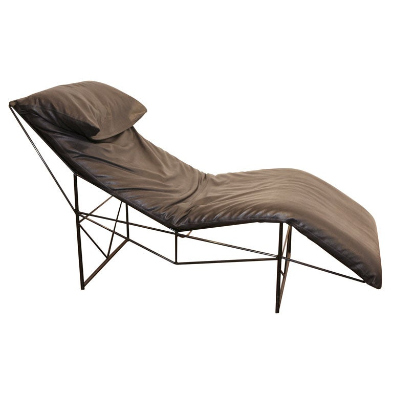 gastone rinaldi chaise longue at 1stdibs. Black Bedroom Furniture Sets. Home Design Ideas
