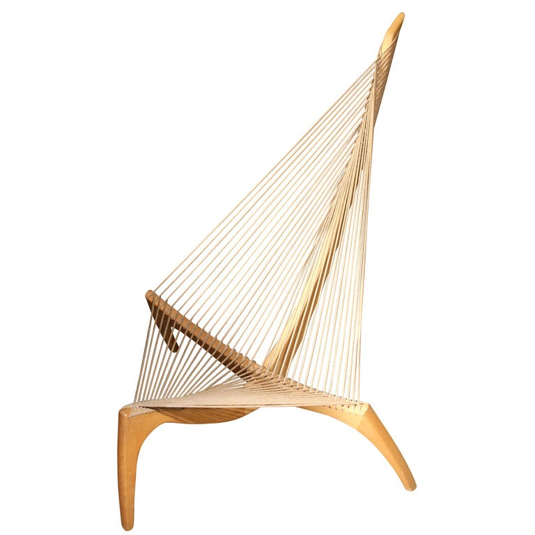 The Harp Chair by Jorgen Hovelskov at 1stdibs