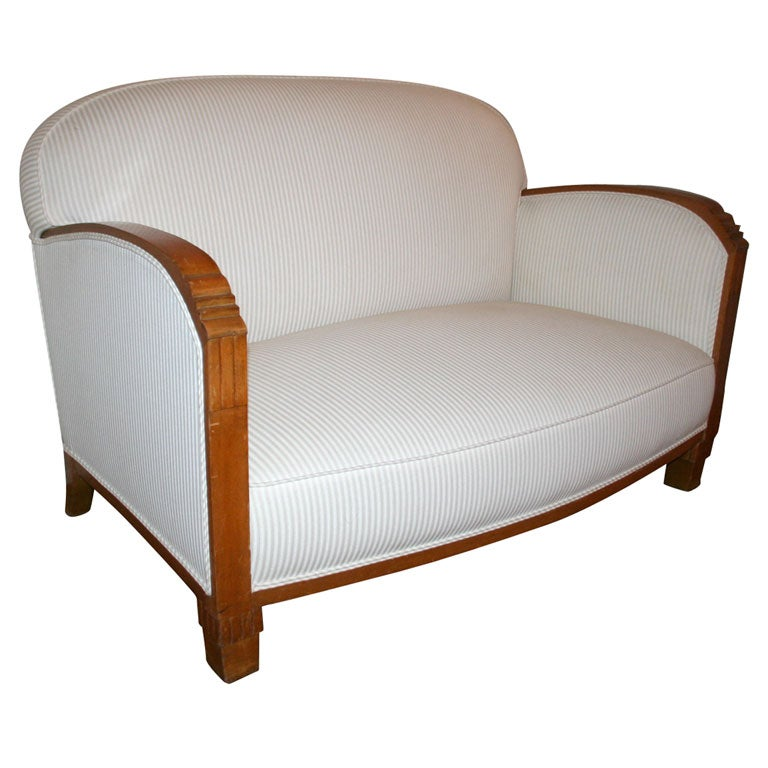 Art Deco Loveseat At 1stdibs
