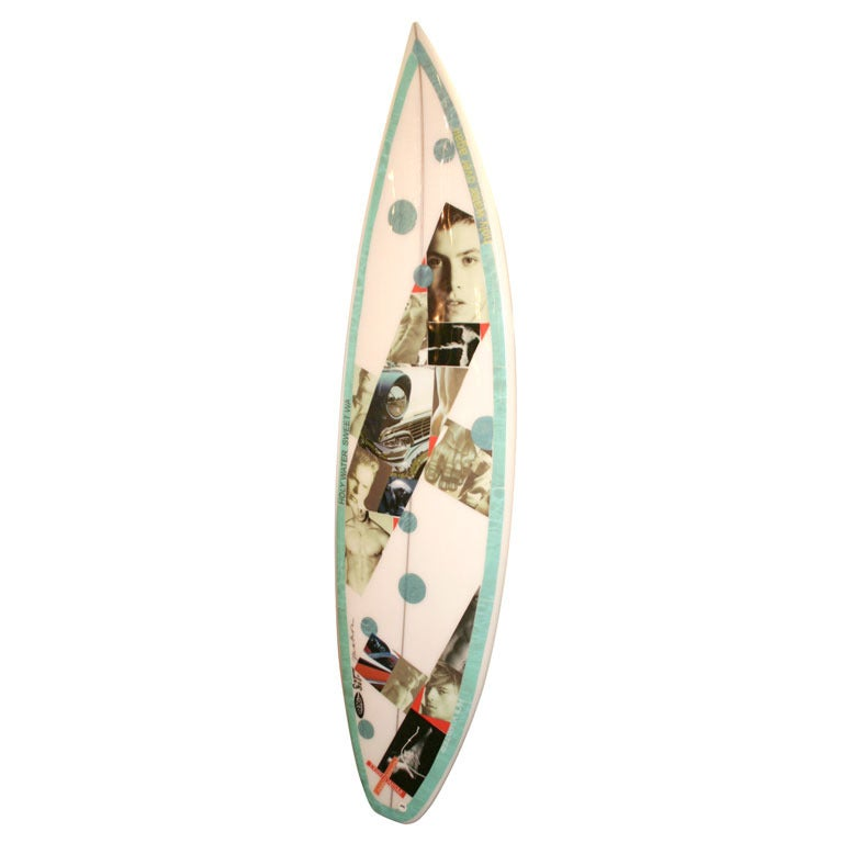 Christopher Makos Limited Edition Surfboard