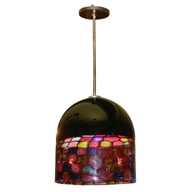 Pendant Dome Chandelier By Leucos At 1stdibs