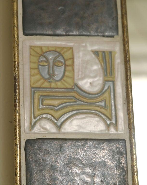 Mirror ceramic tiles