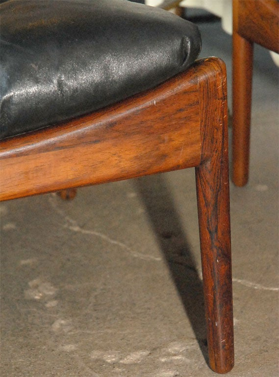 this vedell willadsen black leather easy chair and stool is no longer