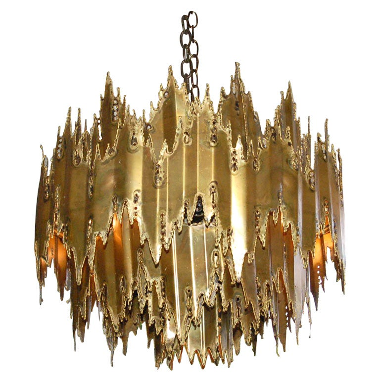 Harry Weese - Brutalist Chandelier attributed to Harry Weese