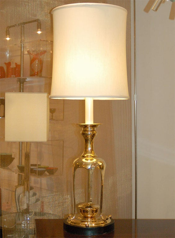 Mid-20th Century Pair of Lamps in the Style of James Mont