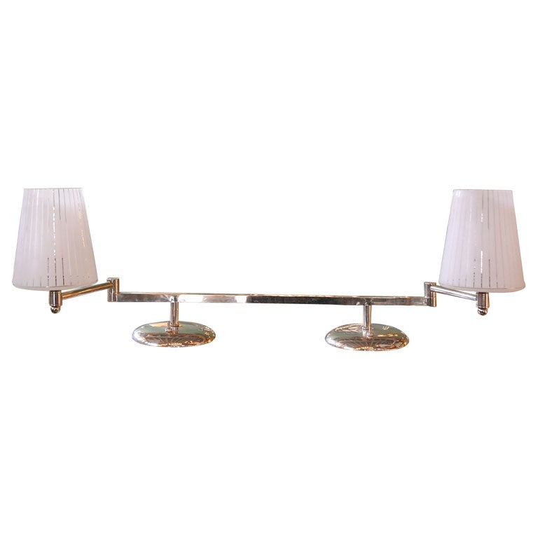 Double Swing Arm Desk Lamp