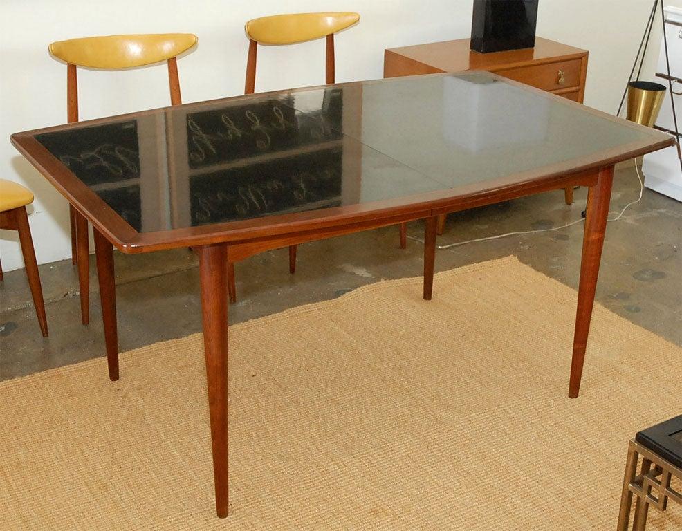Mid century danish dining table at 1stdibs