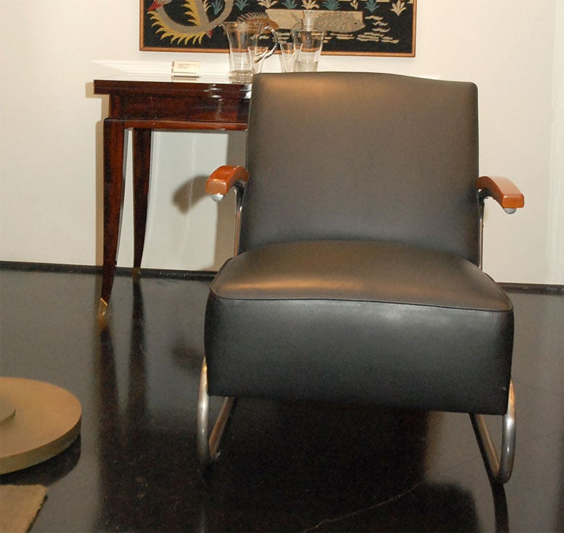pair of signed thonet arm chairs at 1stdibs. Black Bedroom Furniture Sets. Home Design Ideas