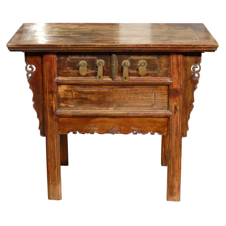 Qing Dynasty Alter Cabinet At 1stdibs