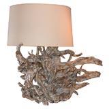 DRAMATIC LARGE DRIFTWOOD LAMP
