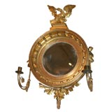 18th Century English Round Gilt Mirror