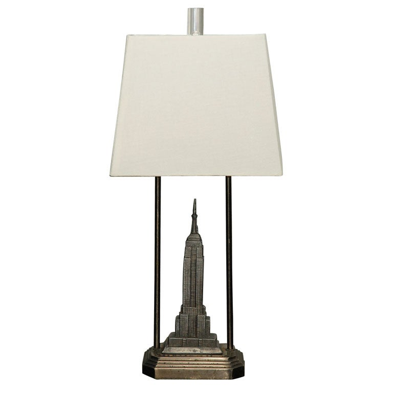 Empire State Building Lamp at 1stdibs