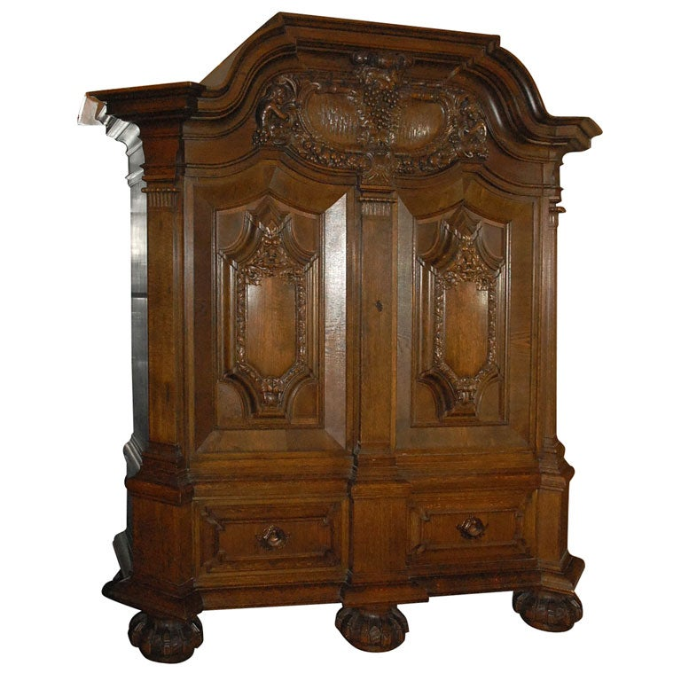 Cushion kas or very large two door cabinet for sale at 1stdibs Kitchen cabinet door cushions