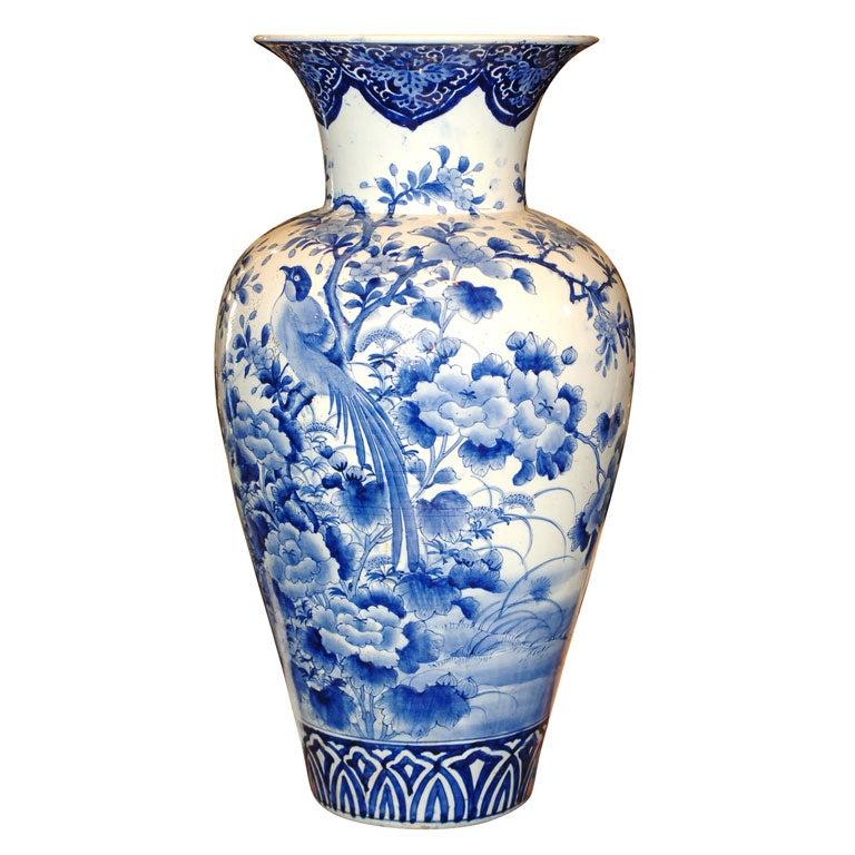 Monumental Size Aritaware Vase