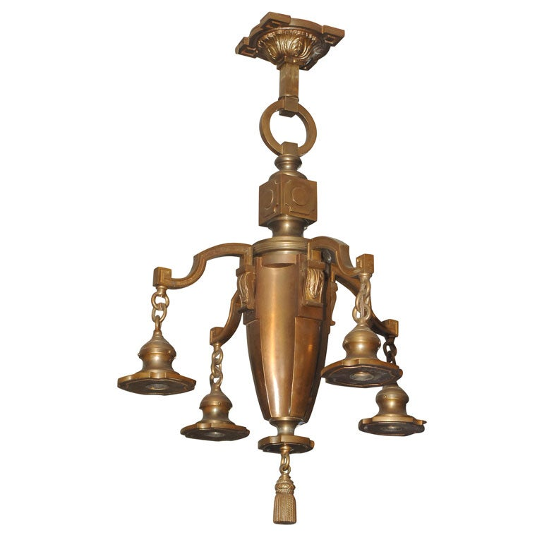 how to clean antique bronze fixtures
