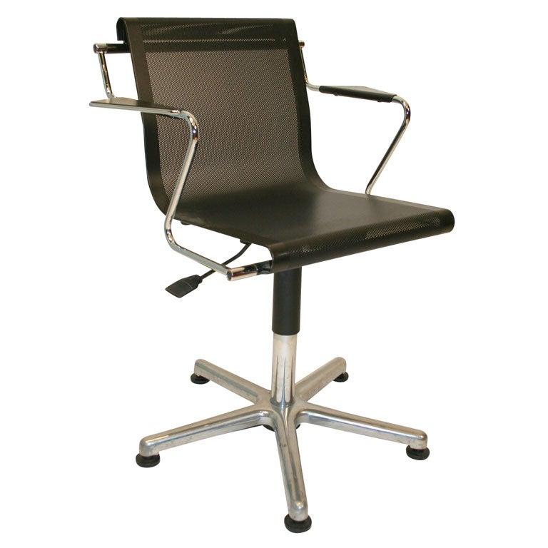 Adjustable Mesh Metal fice Desk Chairs at 1stdibs