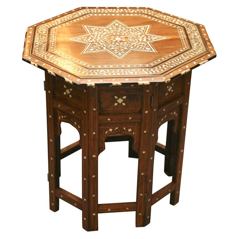 Anglo Indian Taboret Table At 1stdibs
