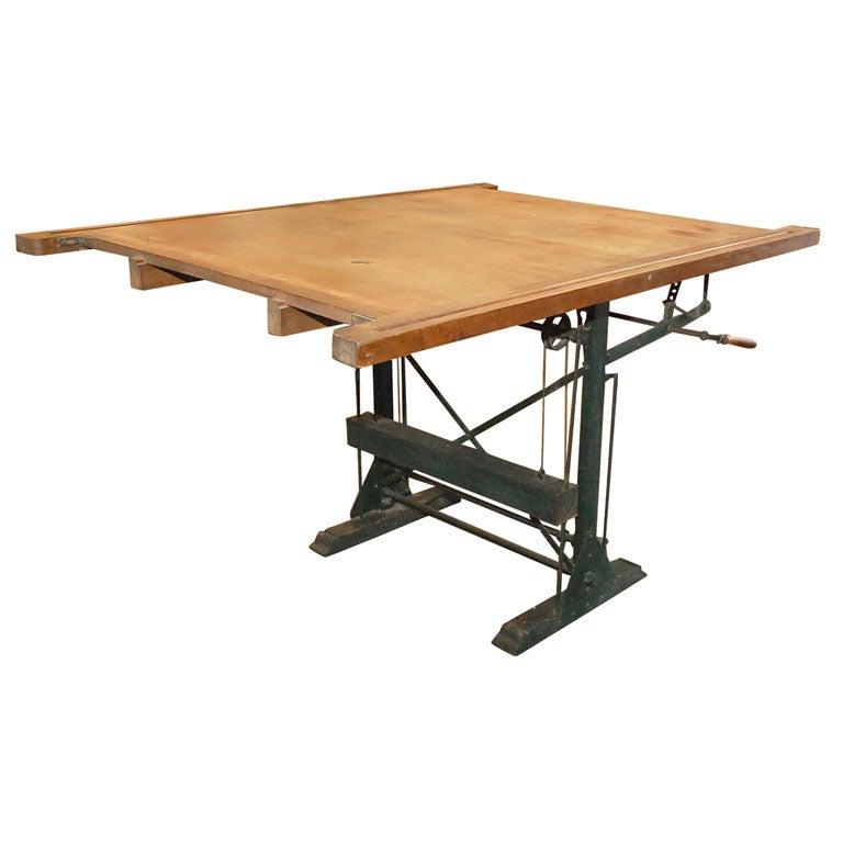 adjustable drafting table at 1stdibs