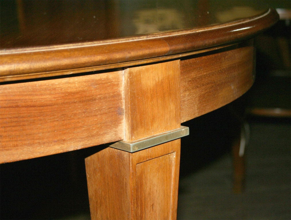 Mid-20th Century French Fruitwood Table For Sale