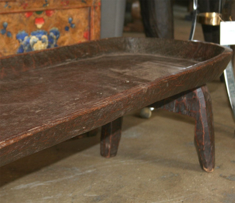 An Ethiopian Wood Bed Low Coffee Or Serving Table At 1stdibs