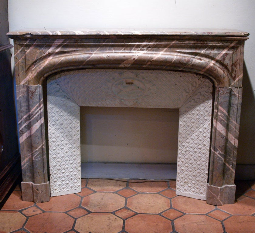 18th Century French Marble Mantle 2