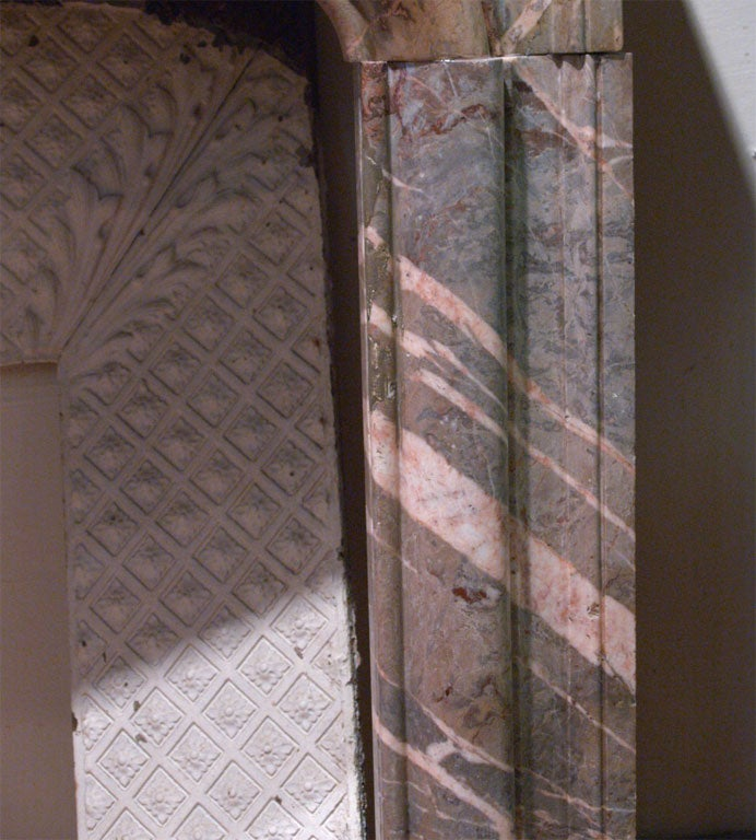 18th Century French Marble Mantle 6